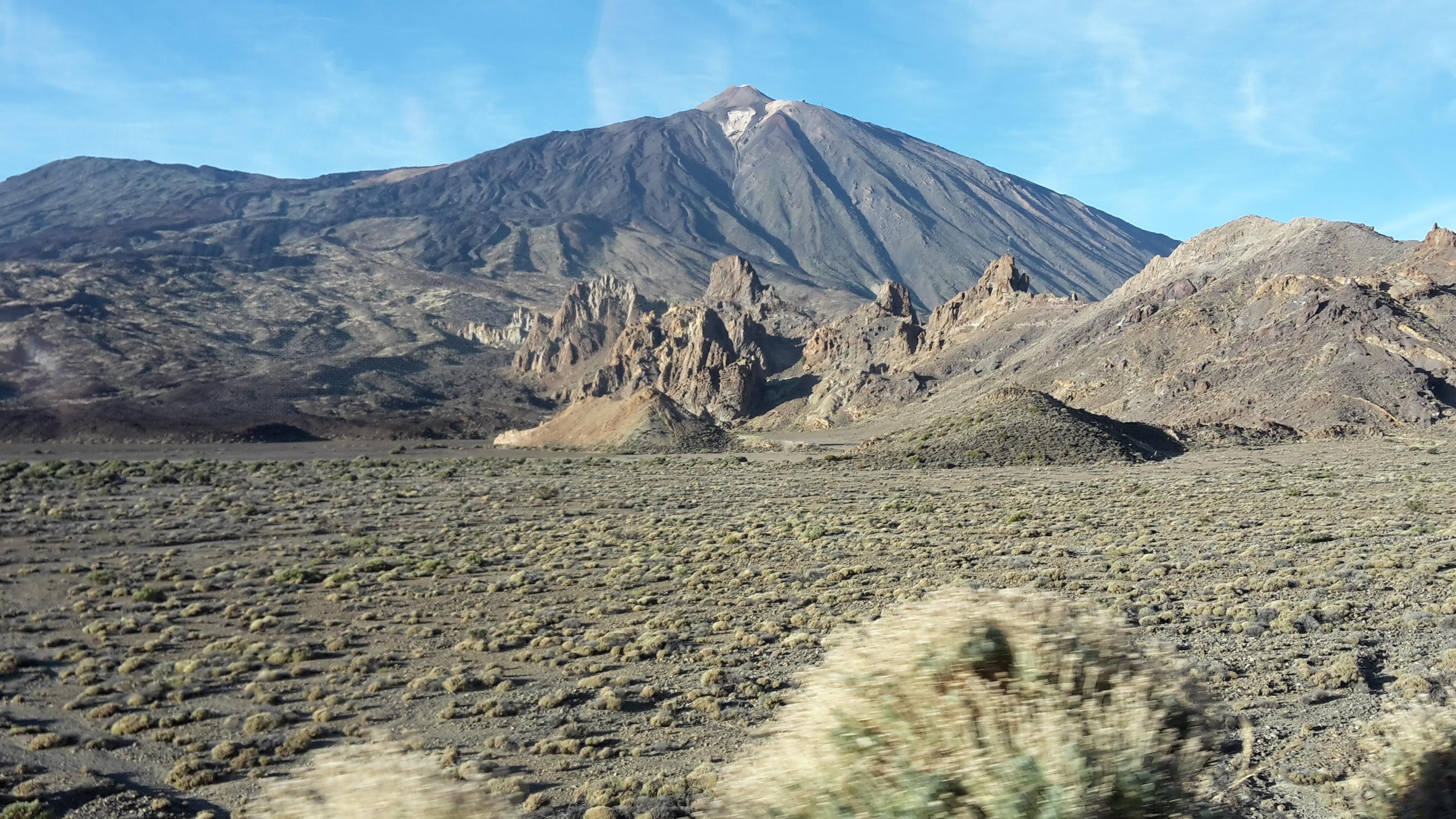 El Pico del Teide, Tenerife, îles Canaries (3718 m). © Andréa Haug